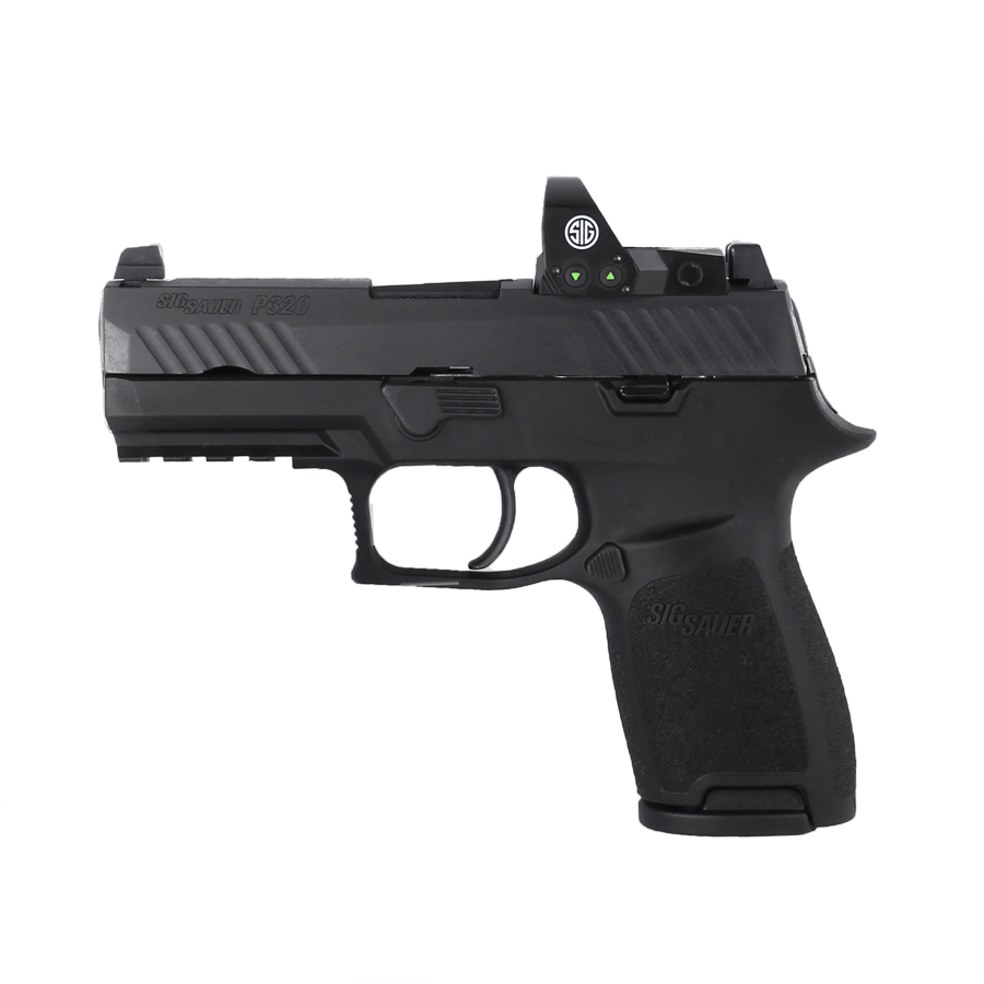 Sig Sauer P320 Compact w/Red Dot Sight, 9mm - IOP