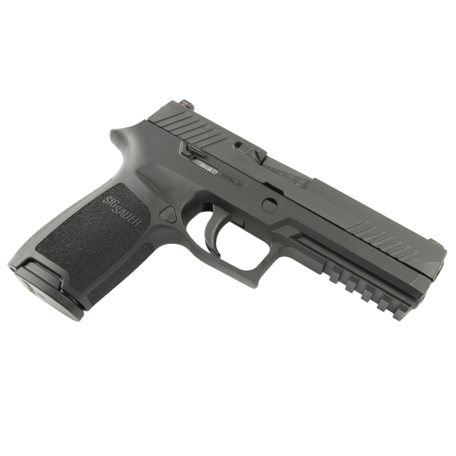 Sig Sauer P320 Full Size, 9mm, Nitron, SigLite Night Sights, DAO - USED