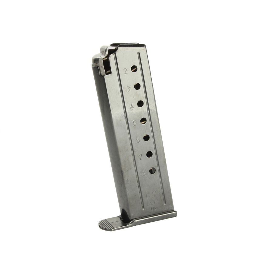 HK P7-PSP Magazine, 8RD, 9mm - USED