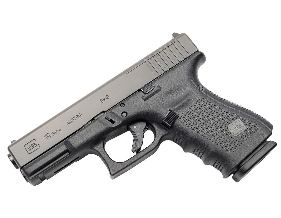 Glock 19 GEN 4 MOS 9mm - Black - Top Gun Supply