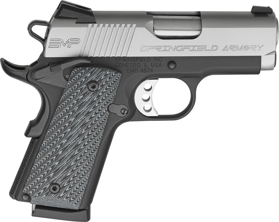 Springfield Armory EMP 9mm, G-10 Grips, 3