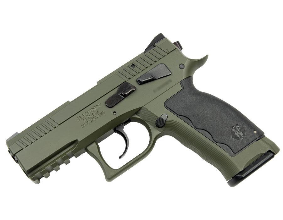 SPHINX SDP Compact, 9mm, Iron Sights, DA/SA - Krypton