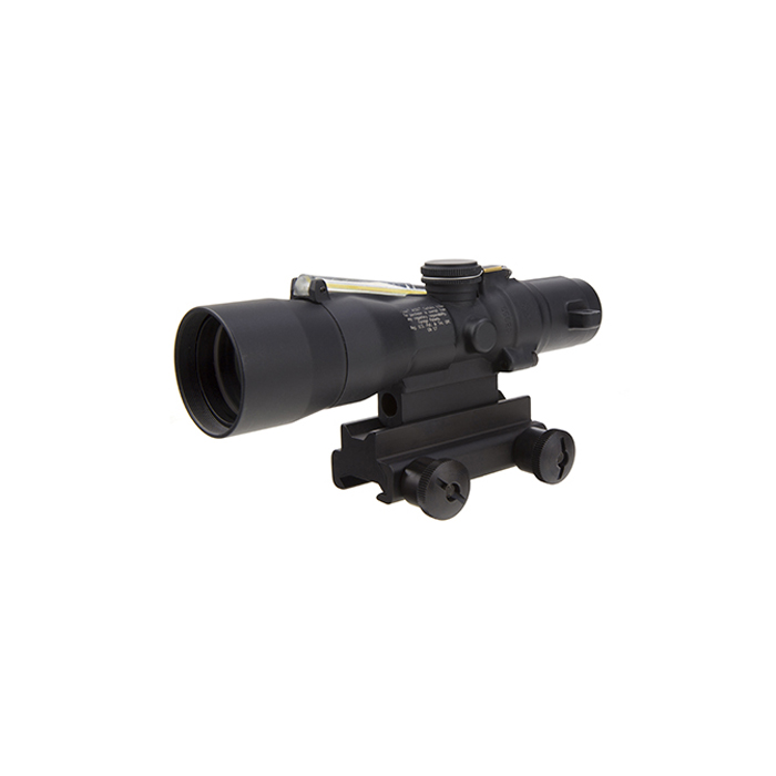 Trijicon ACOG 3X30 Compact .223/5.56 with TA60 M4 Mount - AMBER CHEVRON