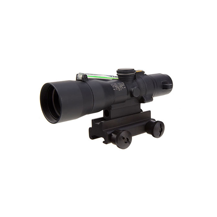Trijicon ACOG 3X30 Compact .223/5.56 with TA60 M4 Mount - GREEN CHEVRON