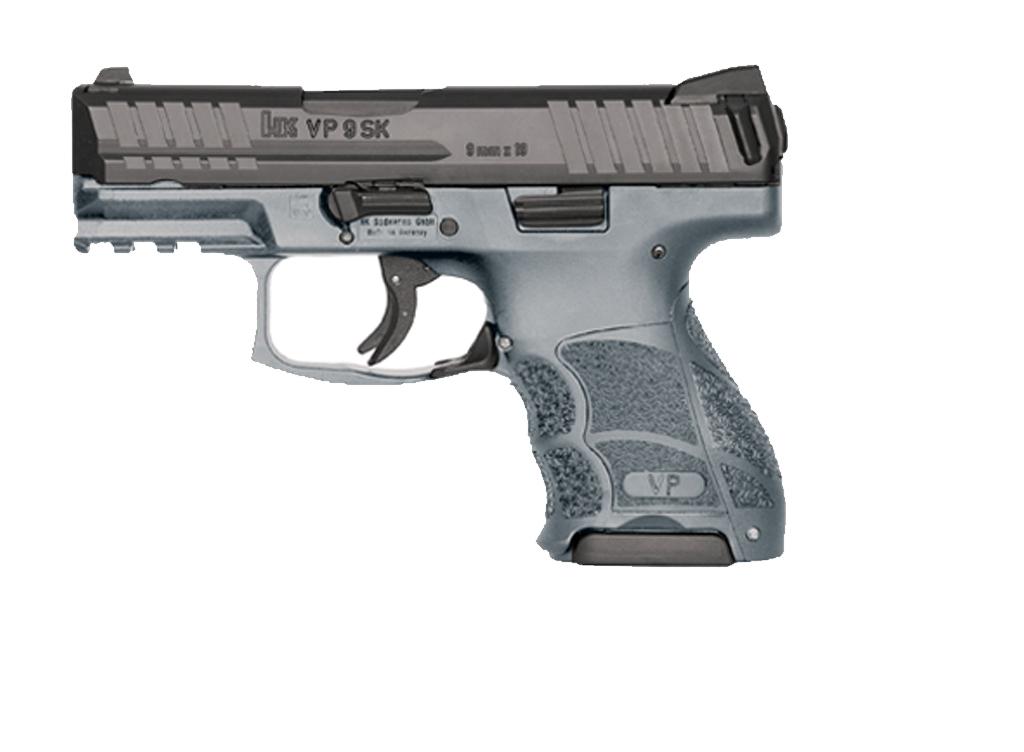 H&K VP9SK 9mm Striker Fired, Fixed Sights Grey