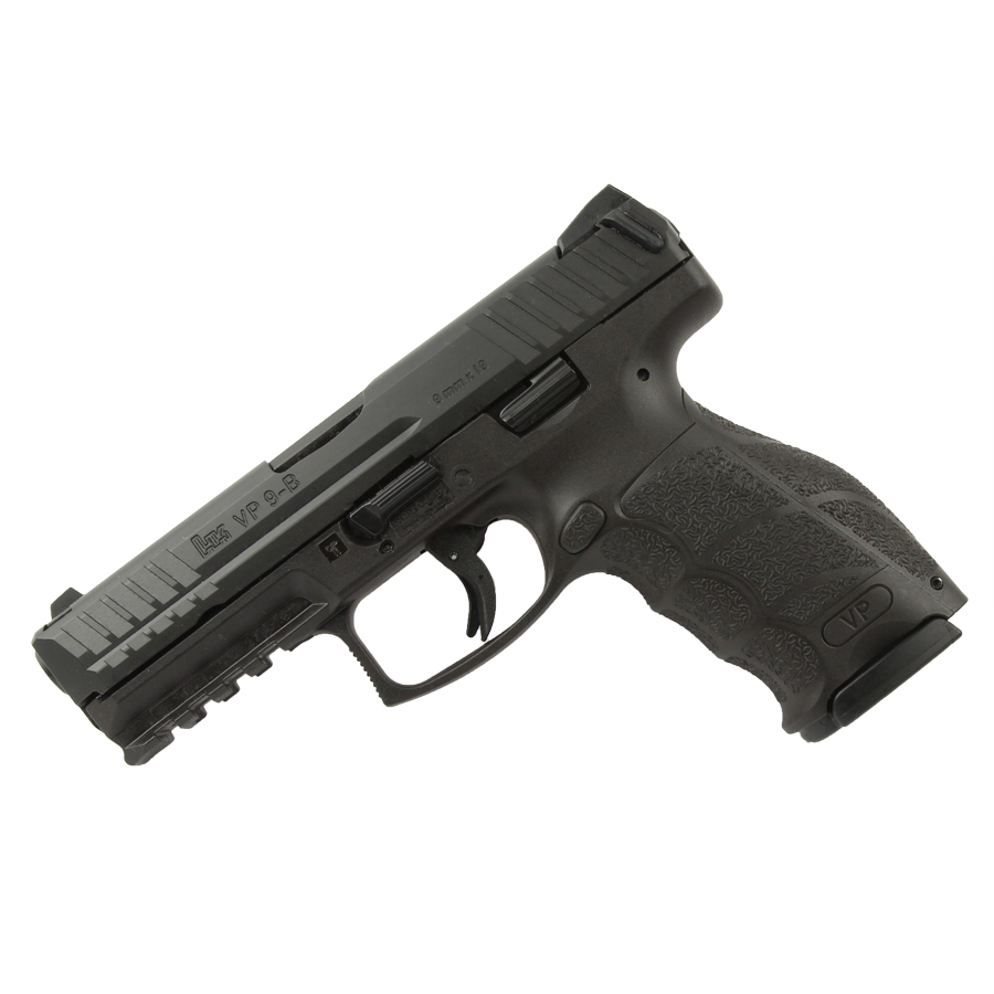 Heckler and Koch VP9-B, Striker Fired, Fixed Sights, 9mm - Black