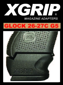 X-Grip - For Glock 26-27 COMPACT GEN 5