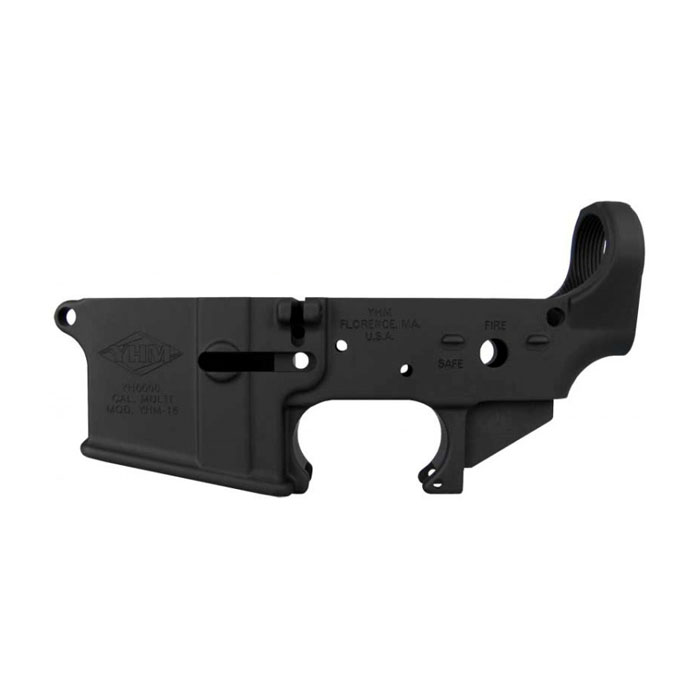 Yankee Hill Machine AR-15 5.56mm Lower Receiver - STRIPPED