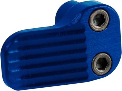 Timber Creek Outdoors Extended Mag Release for AR-15 - BLUE