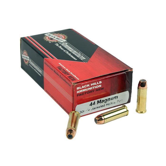 Black Hills .44 Magnum 300 GR. JHP - 50RD - Factory New