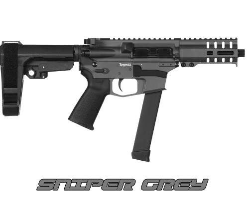 CMMG Banshee 9mm Pistol, Sniper Gray