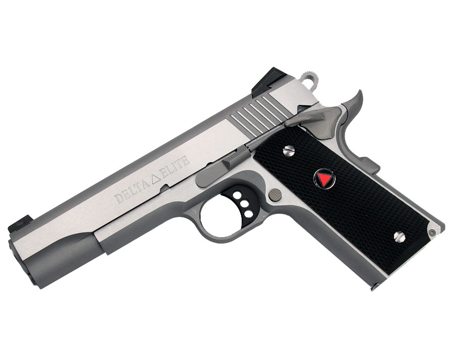 Colt Delta Elite 10mm Stainless 1911 Pistol Top Gun Supply