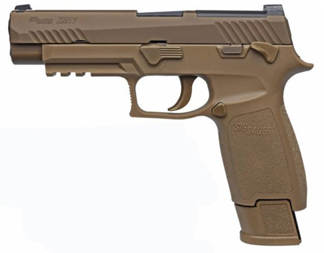 Sig Sauer P320 M17 Commemorative, 9mm, Coyote Tan, Night Si - 1 of 5000