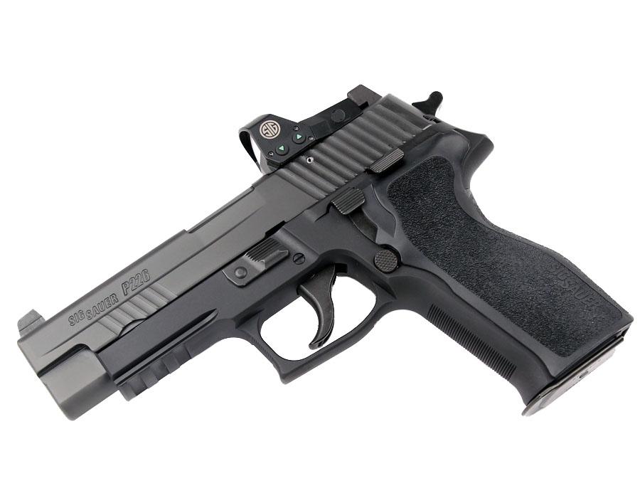 Sig Sauer P226R RX, 9mm, Night Sights, DA/SA