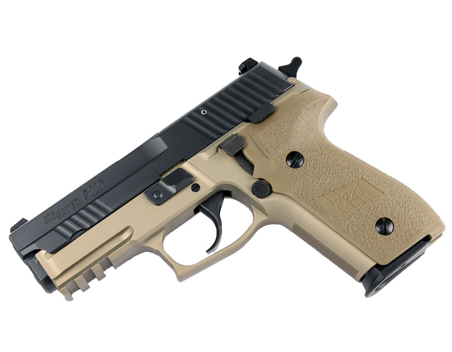 Sig Sauer P229R COMBAT 9mm, Nitron, SigLite Night Sights, DA/SA