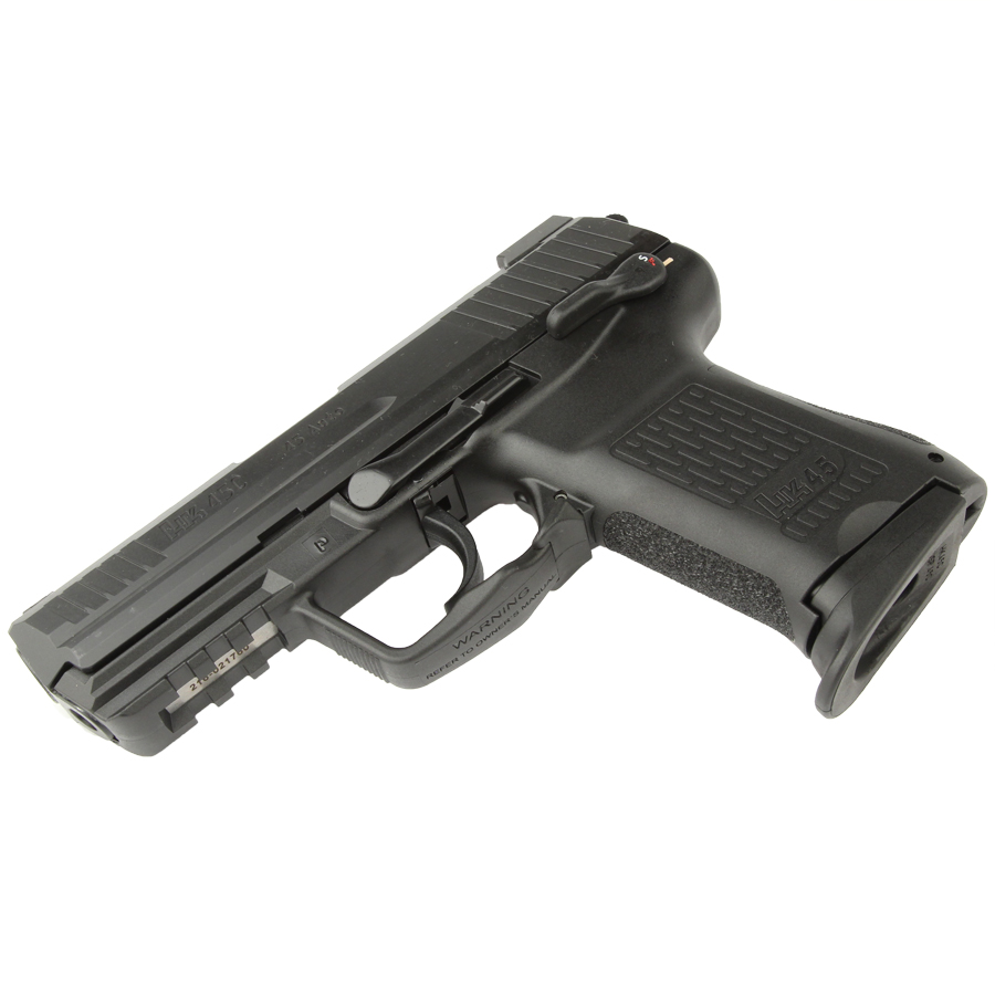 H&K HK45C Compact .45ACP, DA/SA, Night Sights, 3 Mags