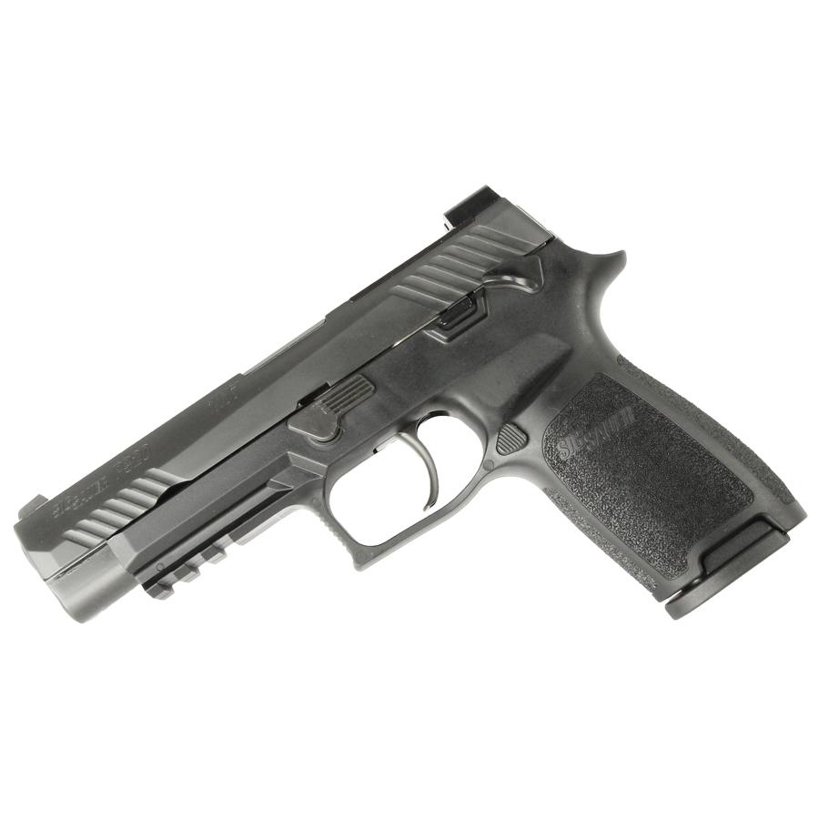 Sig Sauer P320 M17 Bravo, 9mm, Nitron, SigLite Night Sights, Black - IOP