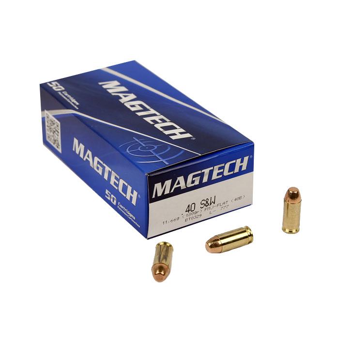 Magtech .40S&W 180 GR. FMJ - 50RD