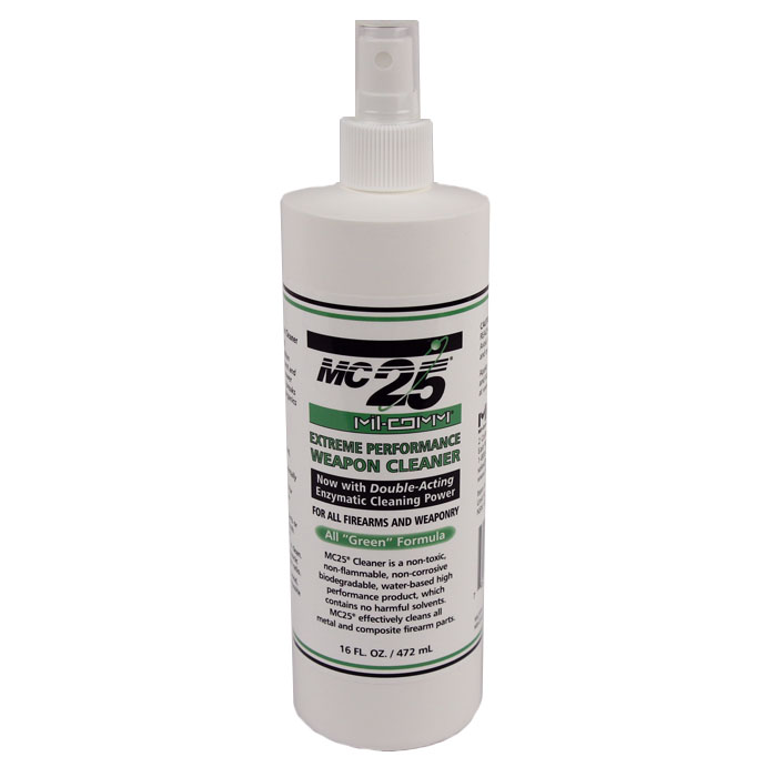 Mil-Comm MC25 Cleaner & Degreaser- 16 oz pump spray