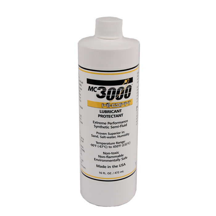 Mil-Comm MC3000 Lubricant & Protectant 16 oz Bottle
