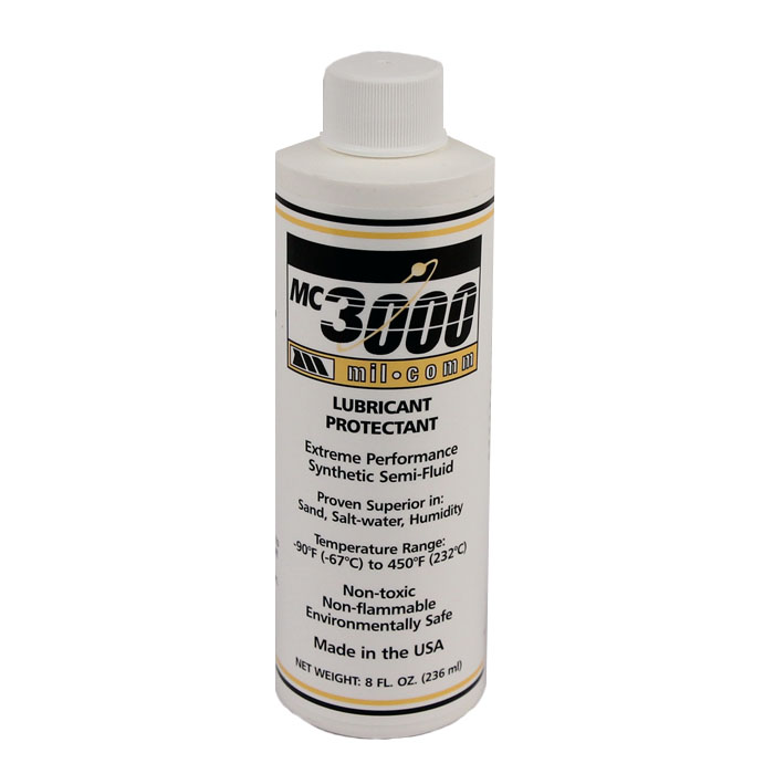 Mil-Comm MC3000 Lubricant & Protectant 8 oz Bottle