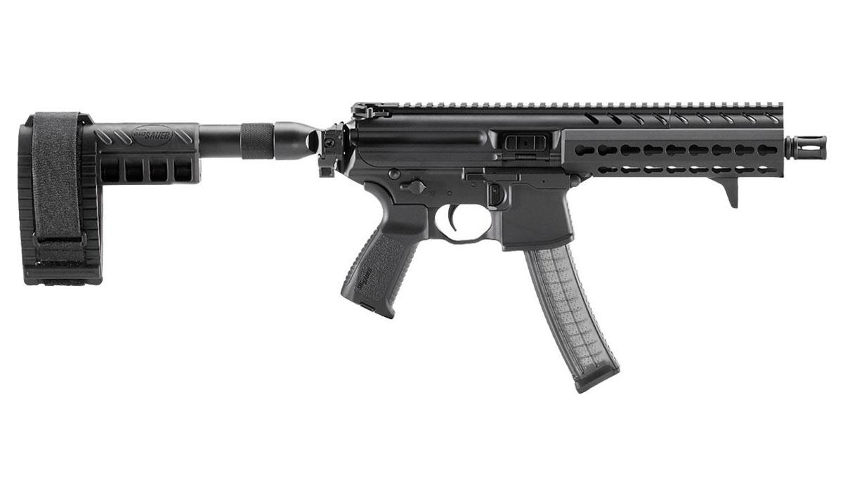 Sig Sauer MPX Pistol W/Stabilizing Brace, Keymod, 9mm