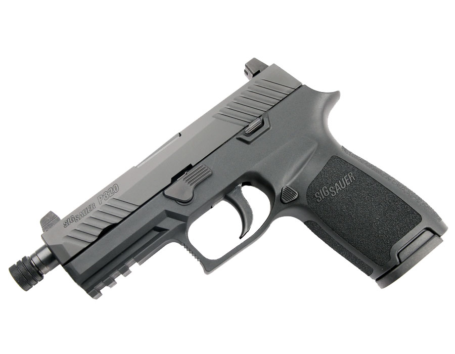 Sig Sauer P320 Carry, 9mm, Nitron, Tall Night Sights, DAO - Threaded BBL