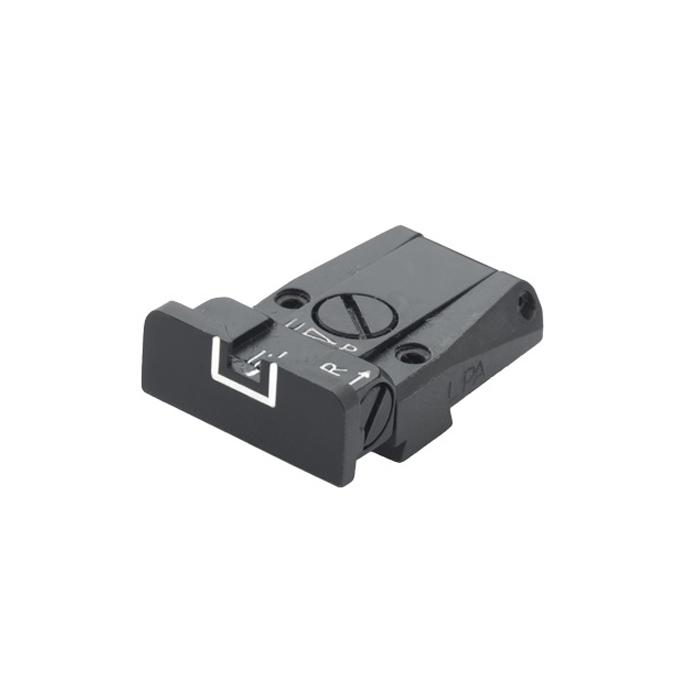 SPR Adjustable Rear Sight - SIG P220, 228, 225, 226 White Outline