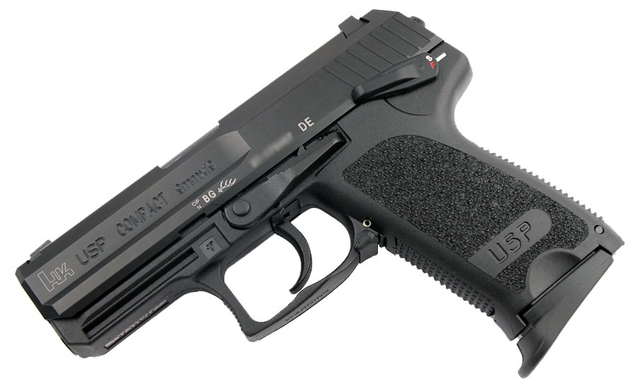H&K USP Compact 9mm, DA/SA, Standard Sights