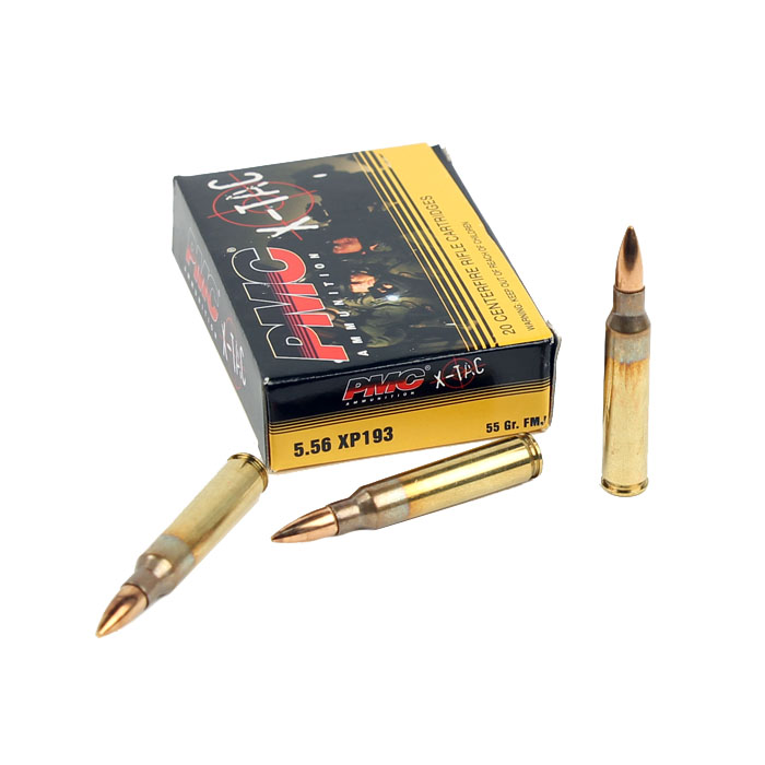 PMC X-TAC 5.56 XP193 55GR. FMJ-BT - 20RD