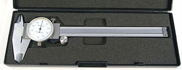 Dial Caliper, 6 inch