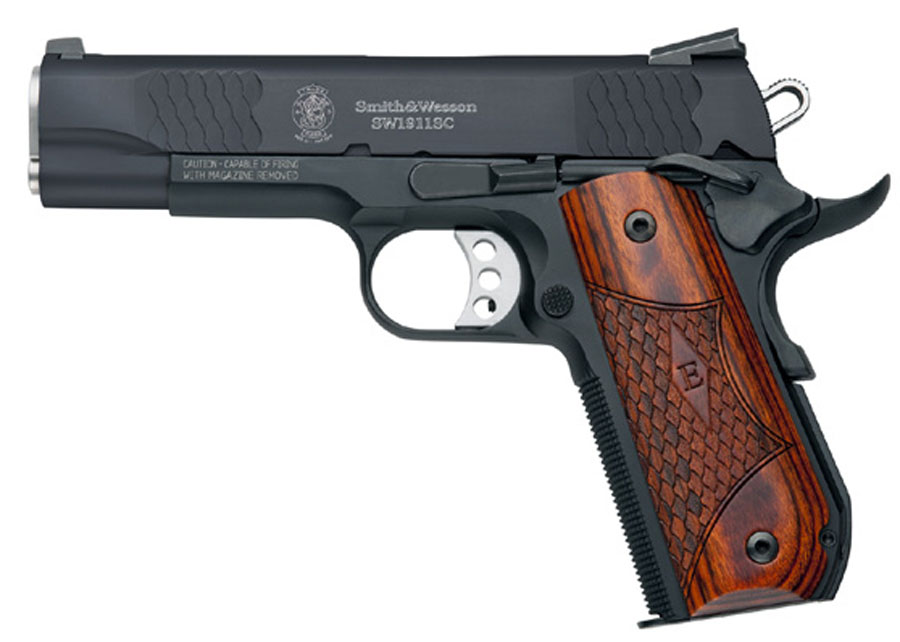 Smith & Wesson Model SW1911SC E-Series, 4 1/4
