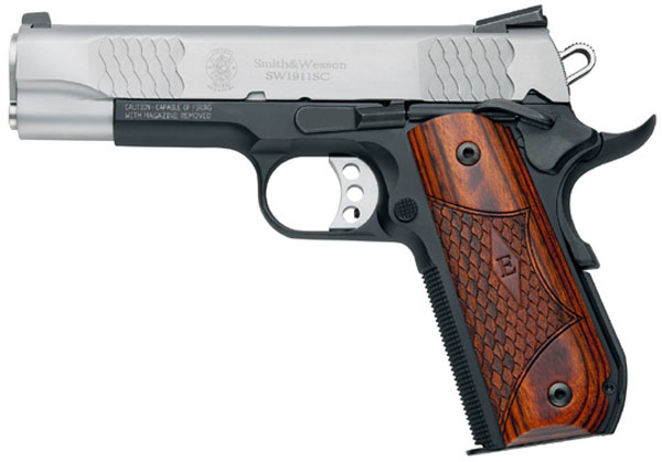 Smith & Wesson Model 1911SC, 4 1/4
