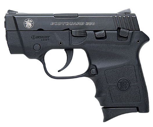 Smith & Wesson Bodyguard .380ACP - Laser