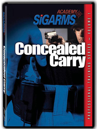 SIG SAUER Professional Training Series DVD: Volume 1 - Concealed Carry