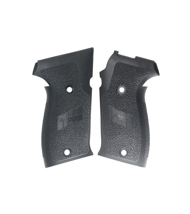 Sig Sauer P220 SLIM Grips, Black Polymer