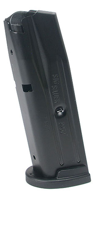SIG SAUER P250 Compact 9mm 10rd magazine - New Grip Style - 10 ROUND