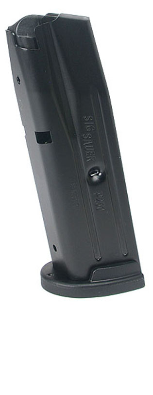 SIG SAUER P250 Compact .40S&W, .357SIG 10rd magazine - New Grip Style - 10 ROUND