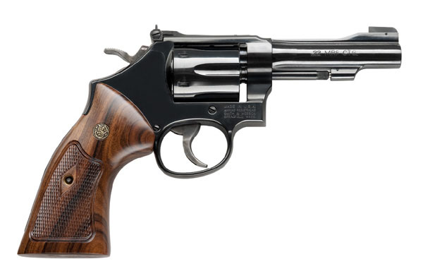 Smith & Wesson Model 48 Classic Six Shot, 4 inch .22 Magnum - Blue