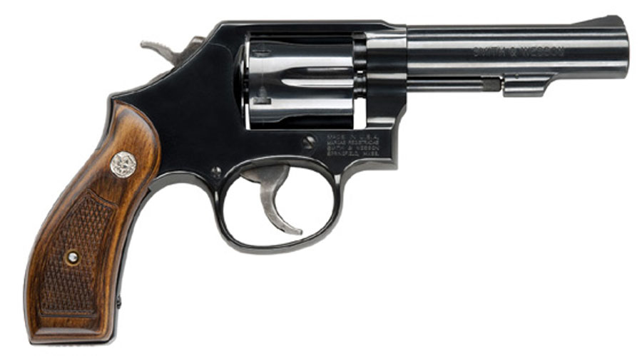 Smith & Wesson Model 10 Classic Six Shot, 4 inch .38SPL + P - Blue