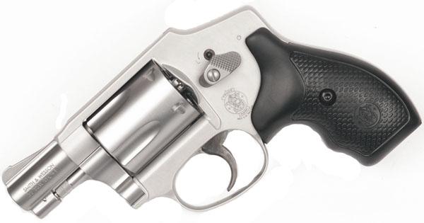 Smith & Wesson Model 642 .38SPL +P