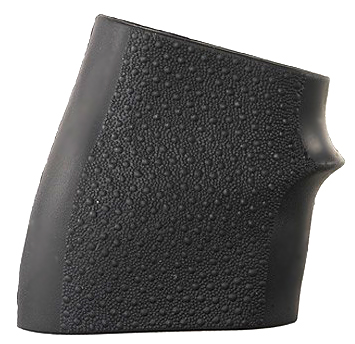 Hogue HANDALL JR Universal Rubber Grip Sleeve - BLACK - SMALL