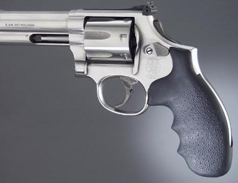 Hogue Rubber Monogrip for Smith-Wesson K/L Frame Round Butt