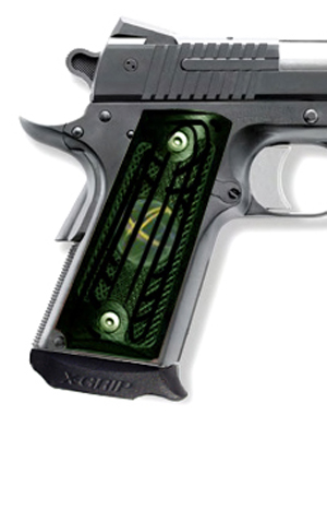 X-Grip -  1911c1 Officers - One Piece