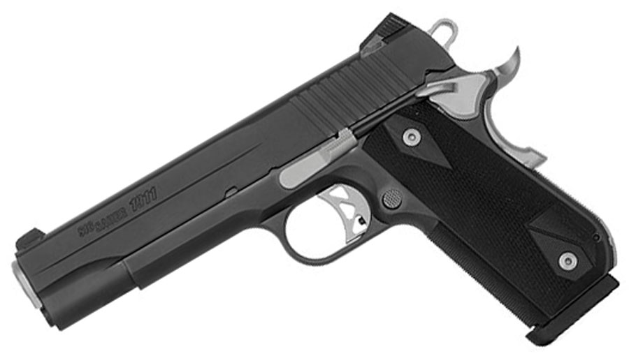 Sig Sauer 1911 Fastback Nightmare, Nitron .45ACP, Night Sights