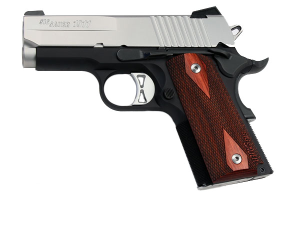 Sig Sauer 1911 Ultra Compact, Two-Tone, .45ACP, Night Sights - IOP