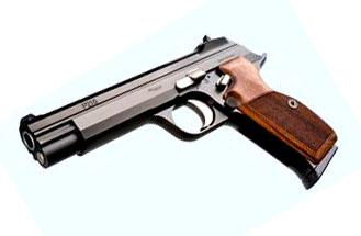 Sig Sauer P210 Legend 9mm, Standard Sights