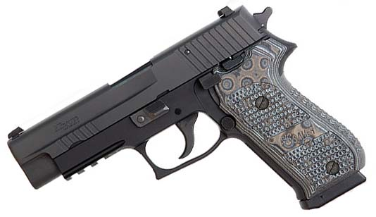 Sig Sauer P220R Extreme, Night Sights, G-10 Grips, SRT