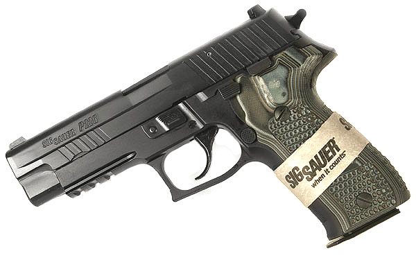 Sig Sauer P226 Extreme, 9mm, Nitron, Night Sights, DA/SA, SRT