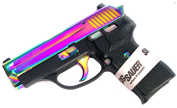 Sig Sauer P239 40 Rainbow Night Sights Dasa Top Gun Supply